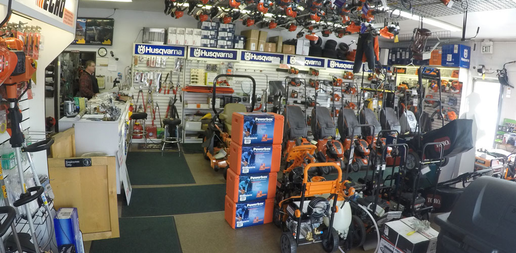 ASJ Small Engines, Etc. Services All Major Brands of Outdoor Power Equipment